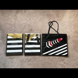 Three Sephora Gift Bags
